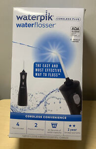 *Sealed New* Waterpik Waterflosser Cordless Plus - Black, Model WP-462w