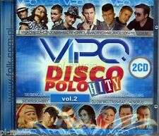 = VIPO DISCO POLO HITY vol.2 [2 CD] Sealed from Poland / disco polo & dance/2014