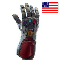 US Avengers Endgame Infinity Gauntlet Cosplay Iron Man Tony Stark Gloves Costume