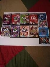 Lot of 11 The Sims 2 + 3 PC/Mac Computer Games & Expansion Packs