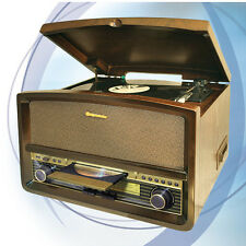 Roadstar Hif-1937tumpk Plattensp. CD Cass. Radio