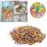10bags Pearl Crystal Shape Water Beads Bio Gel Grow Magic Jelly Balls Home Decor