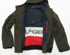 Tommy Hilfiger Men's Softshell Jacket Color Olive Size Large