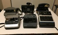 Lot Of 6 Polaroid Instant Cameras Untested SPECTRA LAND SUPER SHOOTER Kodak Ek6