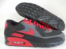 NIKE AIR MAX 90 CURRENT ID BLACK-GREY-RED SZ 11 [653535-993]