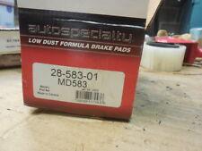 99-00 Fits Mazda Protege Front Disc Brake Pad Set 28-583-01 BP-44