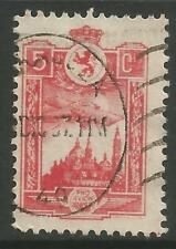 SPANISH CIVIL WAR-ZARAGOZA. 1937. 5c Rose Local Post. Galvez: 796. Fine Used.