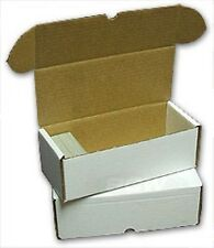 100 BCW Storage Boxes (500 Count) -  FREE SHIPPING