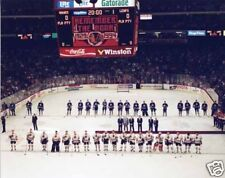CHICAGO BLACKHAWKS FINAL GAME STADIUM 16 X 20 POSTER PHOTO