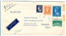 NEDERLAND 1945-5-29 NAAR  USA   FINE  FRAAI