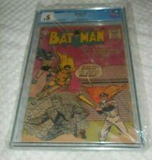 BATMAN # 90 CGC 0.5 NEW CASE 1955 DC COMIC GOLDEN AGE ROBIN BASEBALL COVER