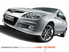 Line Sticker Dark Silver 8P For 08 11 Kia Forte New Cerato