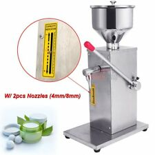 5~50ml Manual Liquid & Paste Filling Machine For Cream Shampoo Cosmetic Filler