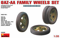 MiniArt 1/35 35099 WWII Soviet GAZ-AA Family Wheels Set