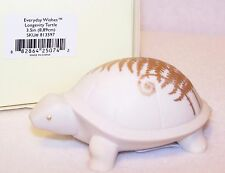 LENOX Everyday Wishes LONGEVITY TURTLE Figurine with Gold Accents New in Box