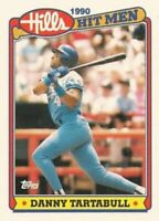 1990 Topps Hills Hit Men Baseball #9 Danny Tartabull Kansas City Royals