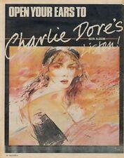 Charlie Dore LP advert 1981