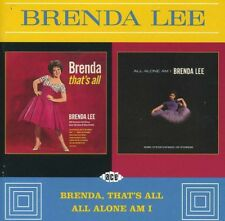 Brenda Lee - Brenda That's All / All Alone Am I [New CD] UK - Import