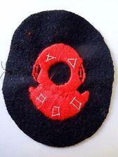 Insigne tissu Patch Marine brevet SCAPHANDRIER Casque Scaphandre ORIGINAL