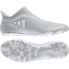 Adidas X Tango 17+ PURESPEED IN White/Grey CG3234 Men's Indoor Soccer Shoes Sz10