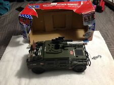 1/6 GI Joe 2002 Motorized US Army Attack  Humvee With Sounds Tested New 1/18