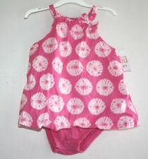 New Carters Outfit Girls size 9 months Pink Sun Dress One Piece NWT  --YYX