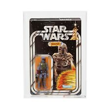 AFA 85 Kenner 1979 Star Wars Original 21-back-B Boba Fett (85–85-80) Clear NM+