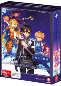 Sword Art Online Alicization Part 2 (Eps 14-24) (Limited Edition) Blu ray