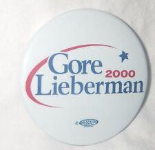 "L6 2000 Lot of 4 Al Gore 2-1//4/"" // Presidential Campaign Buttons"