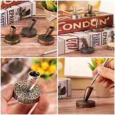 Supplies Writing Accessories Pen Holder Vintage Metal Pen Clips European Style