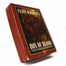 1993 Clive Barker Box Of Blood Horror Painted Trading 32 Cards Tristan Schane