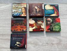 Hörbücher Sammlung bestehend aus 7 historischen Romanen