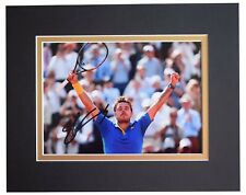 Stanislas Wawrinka Signed Autograph 10x8 photo display Tennis Sport AFTAL & COA