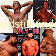 PLAYGIRL 3-94 ROBERT K KELLY DOOL BLOND GREG HAIRY ALDO MARCH 1994 LONG HAIR