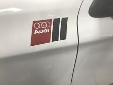 For AUDI  QUATTRO STICKERS,GRAPHICS,WING,CUSTOM,S LINE,SPORT,A3,OTHERS AVAILABLE
