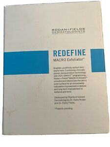 Rodan and Fields REDEFINE MACRO Exfoliator with Original Box