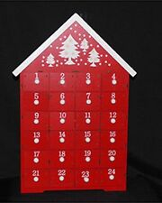 Advent Calendar House Christmas Decoration With Drawers Free Delivery