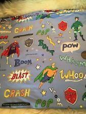 The Company Store super hero twin duvet cover cotton