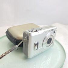 Casio EXILIM ZOOM EX-Z110 6.0MP Digital Camera - Silver, Cased, TESTED #417