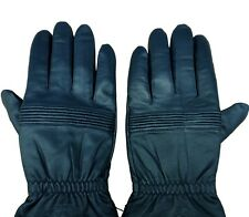 02's series China PLA Air Force Pilot Combat Sheepskin Leather Gloves,Winter