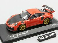 Minichamps 1:43 PORSCHE 911 (991.2) GT2RS 2018 ORANGE L.E. 300 pcs.