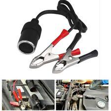 12V 30A Car Cigarette Lighter Socket To Car Battery Alligator Clip Power Supply