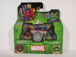 Marvel Minimates JUGGERNAUT as KUURTH & HULK as NUL Wave 15 Toys R Us Exclusive