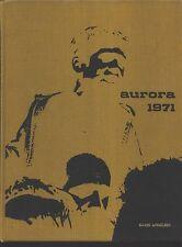 Livonia MI Adlai E. Stevenson High School yearbook 1971 Michigan
