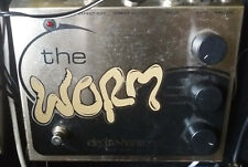 Electro Harmonix EHX-The Worm-Efectos Guitarra Pedal. All Analog