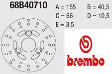 Disco freno BREMBO Serie Oro ANTERIORE Piaggio 50 ZIP FAST RIDER 93 > 00