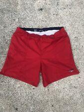 Vintage Polo Sport Ralph Lauren Swim Trunks Shorts Red Logo Pristine Lined Xxl