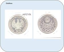 10 MARCOS   DE PLATA AÑO 1972 G     ALEMANIA      ( MB12726 )