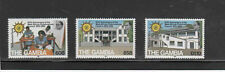 GAMBIA #436-438  1982  30TH ANNIV. OF W. AFRICAN EXAMINATION   MINT  VF NH  O.G