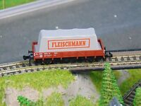"""FLEISCHMANN 8211   DB low sided wagon with covered load     """"BOXED""""  N Gauge"""